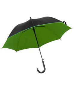 dvobarvni avtomatski dežnik