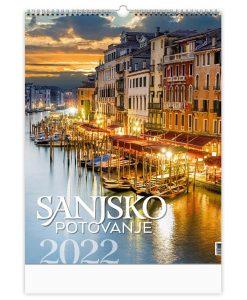 koledar potovanje 2022